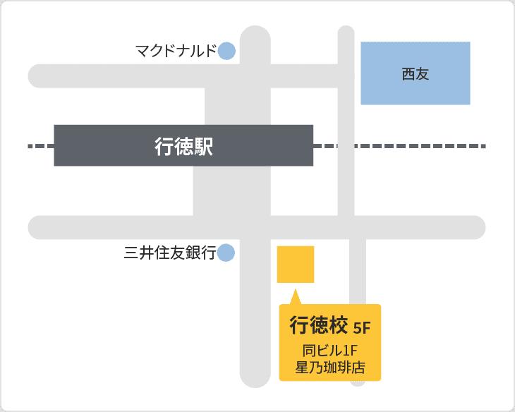 森塾 行徳校の地図