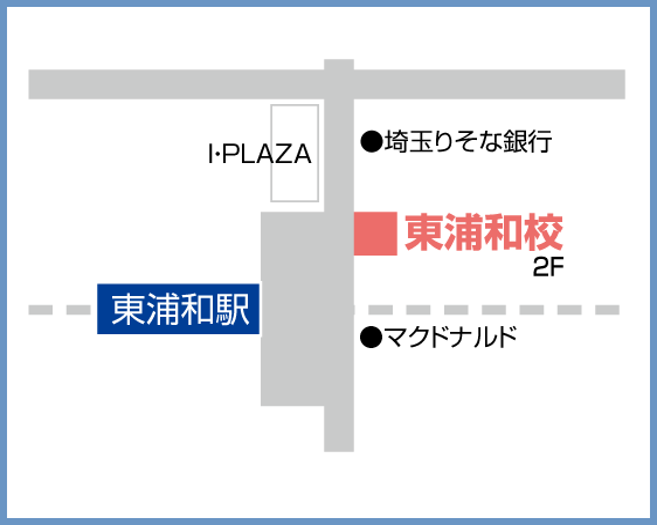 森塾 東浦和校の地図