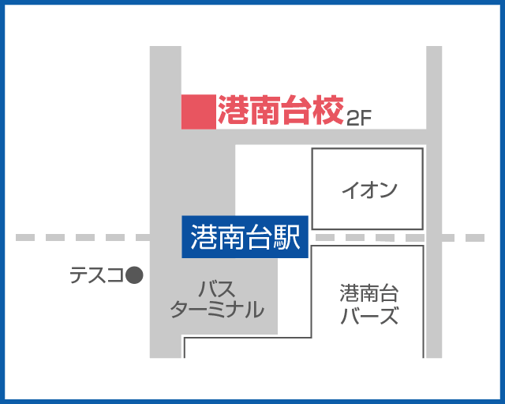 森塾 港南台校の地図