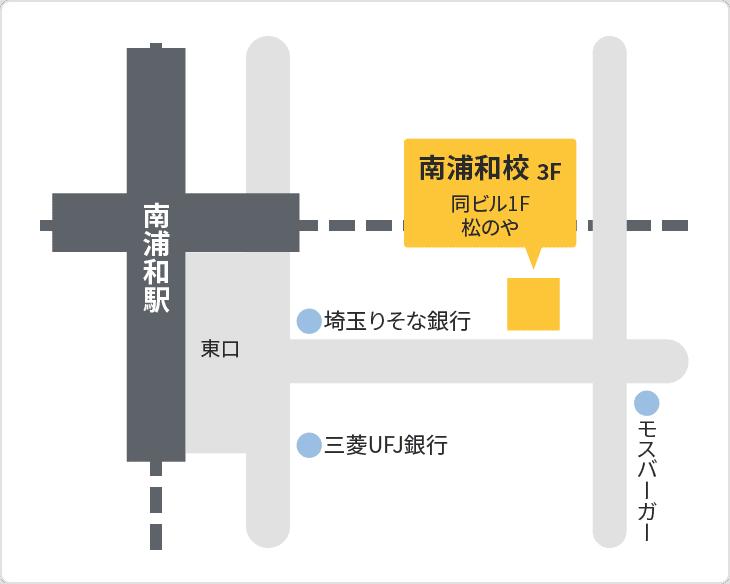森塾 南浦和校の地図
