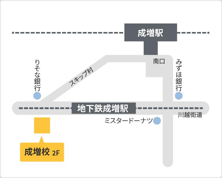 森塾 成増校の地図