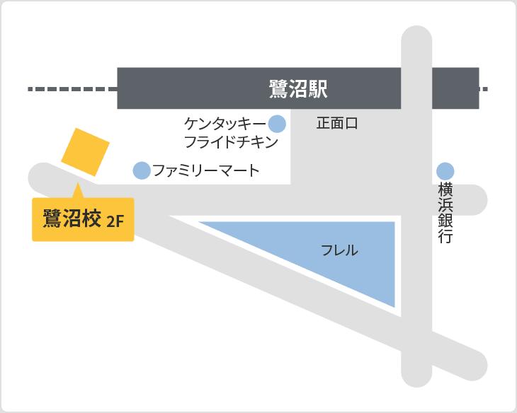 森塾 鷺沼校の地図